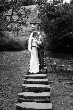 Wedding photograph of bride & Groom