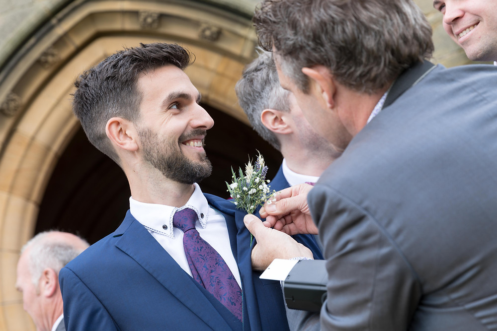 stunning natural wedding photography by Whitby wedding photographer