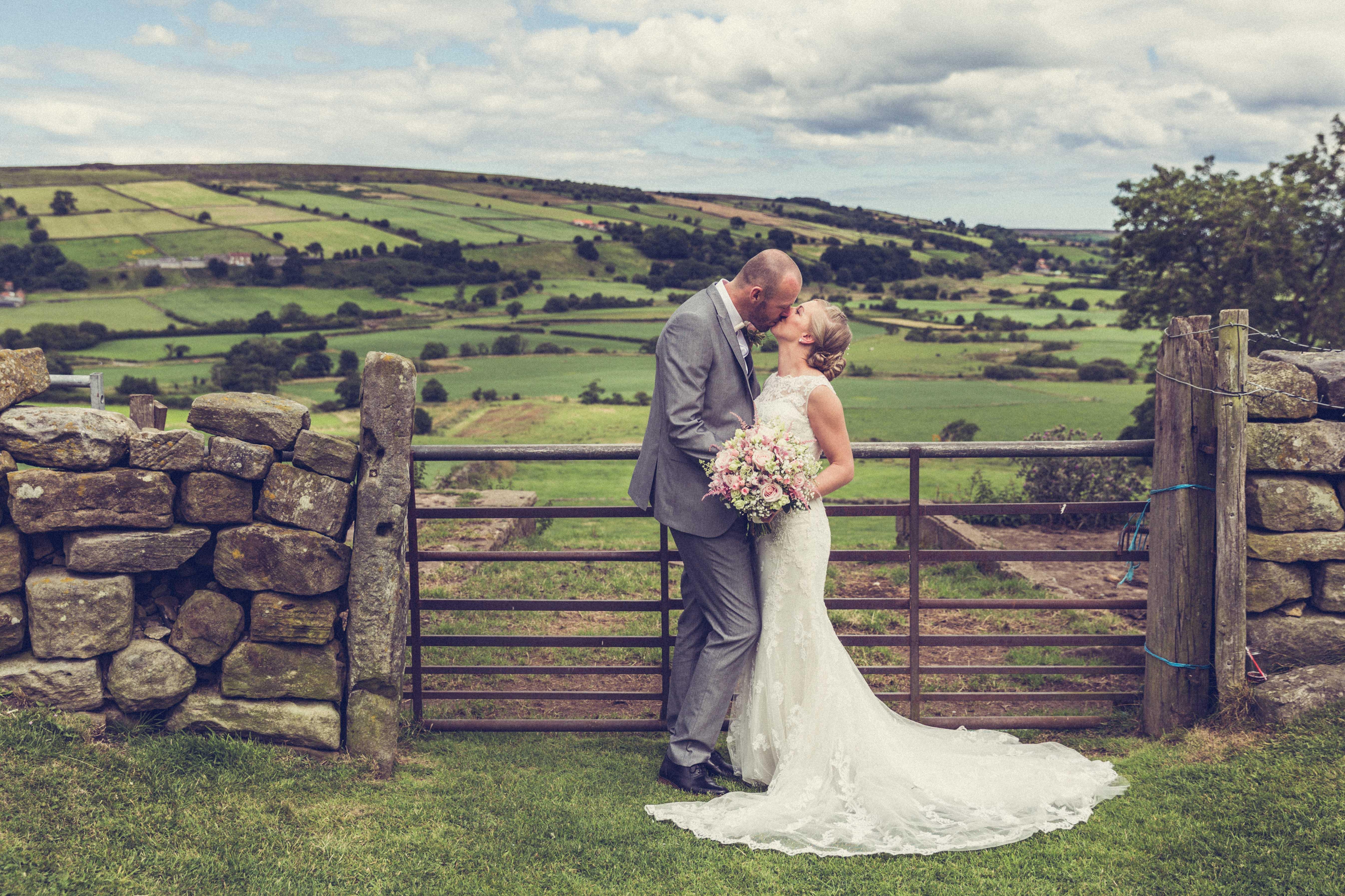 Wedding portrait photograph Danby
