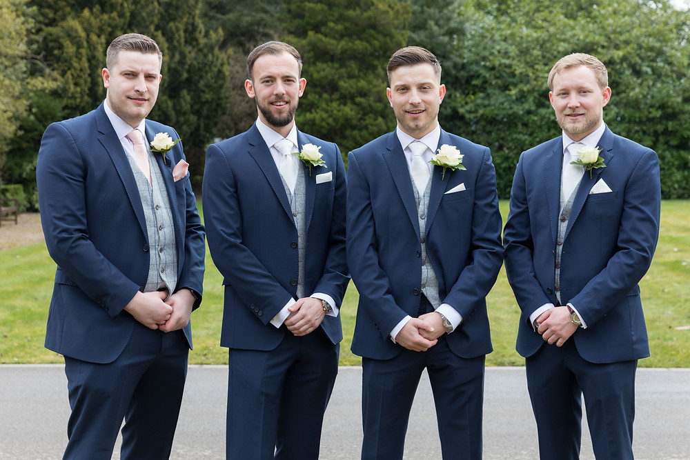 The Groom & his Groomsmen