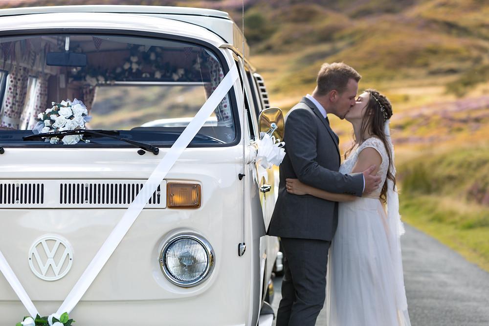The Bride & Groom Kissing captured by Jack Cook