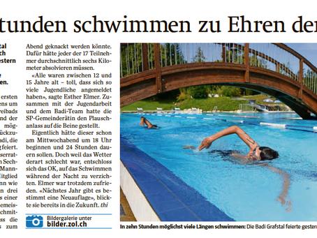 10-Stunden Schwimmen in Grafstal