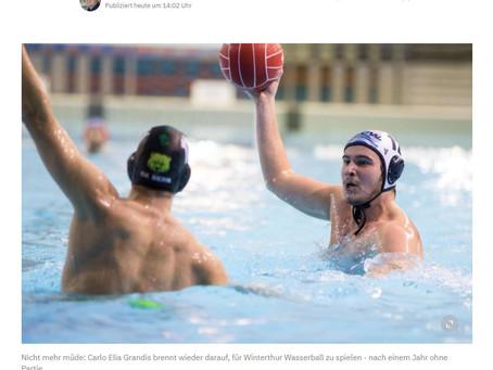 Zwölf Monate ohne Spiel - Wie die NLA-Wasserballer mit der Corona-Zwangspause umgehen