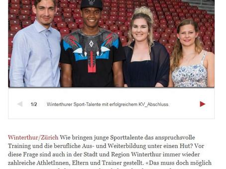 Berufserfolg für Winterthurer Talente