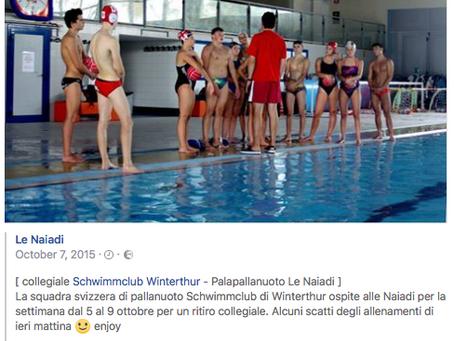 Medienbericht in Pescara Italien...