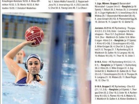 Wasserballerinnen zurück auf dem Boden der Realität