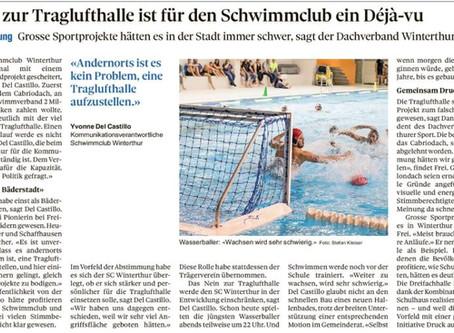 Nein zur Traglufthalle ist für den Schwimmclub ein Déja-vu