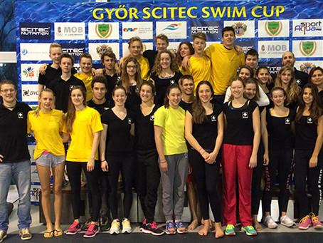 RZO Kader schwimmt schnell in Ungarn... Gyõr Scitec Open Swim Cup 2015