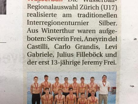 Wasserball: erfolgreiche RZO in Lugano