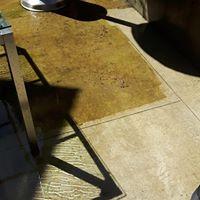Limestone deck