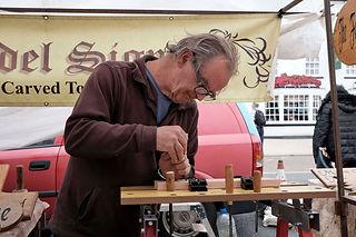 Alan Deleur Carving