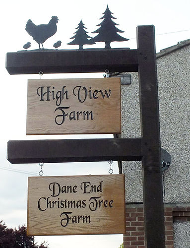 Highview Farm Sign