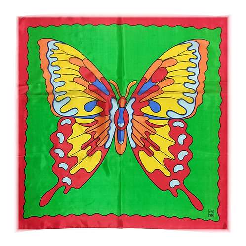 """Flame Butterfly - 27"""" x 27"""""""