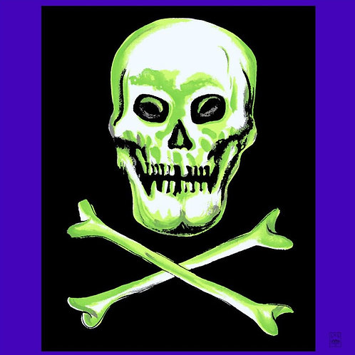 "Jolly Roger / Ghost Show 36"" Silk"