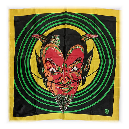 "Art Picture Silks - Devil - 36"" x 36"""