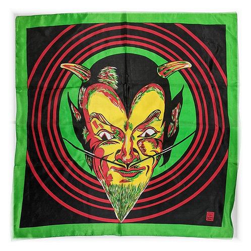 "Art Picture Silks - Devil -27"" x 27"""