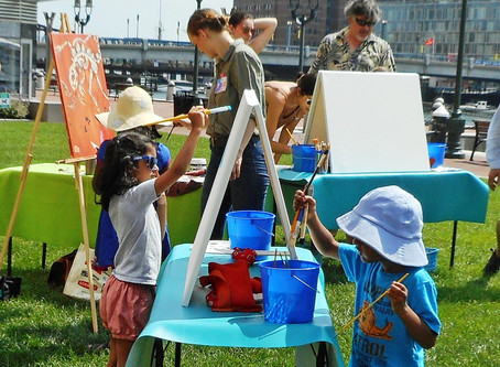 Painting Outdoors in Boston