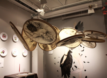 A drawing-installation on time and myths -- Rendez-vous
