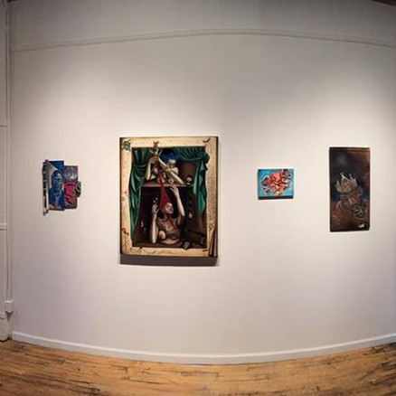Works featured in Silent Auction at Makers Gallery and Studio