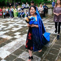Sunny J performance art Wedding of All Times