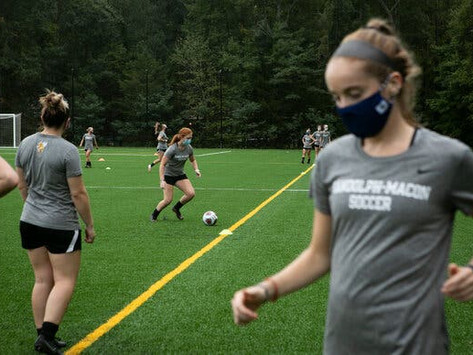 While there are no actual sports, conditioning practice creates community