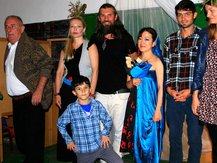 Sunny J participating the Old School Residency in Gorna Lipnitsa, Bulgaria