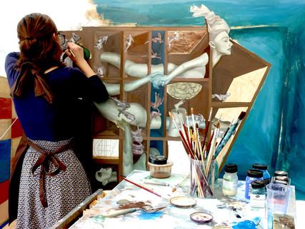 Sunny J participates in GLO'ART Residency in Belgium