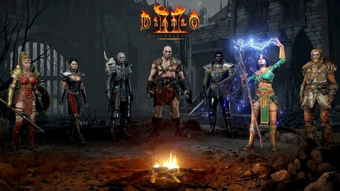 Blizzard опубликовал трейлеры героев Diablo II: Resurrected
