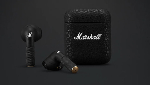 Шведская компания представила две пары беспроводных наушников от Marshall