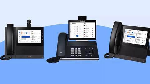 Представлены стационарные телефоны с веб-камерой и поддержкой Zoom
