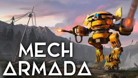 Опубликован новый геймплейный трейлер Mech Armada