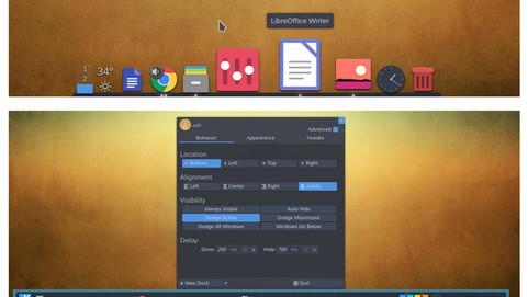 Выпущена версия Latte Dock 0.10 с поддержкой нескольких плавающих доков и панелей