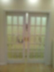 Раздвижные двери эмаль