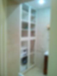Ванная комната шкаф