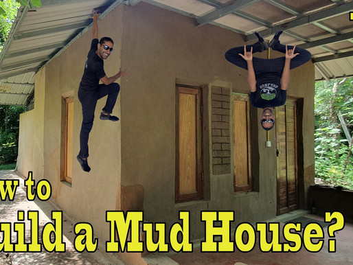 How to build a Mud House? Building the Walls!