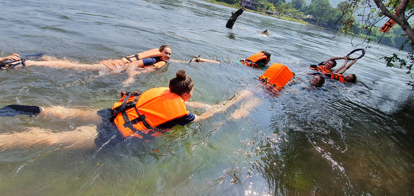 Students from ARCC Adventures Group