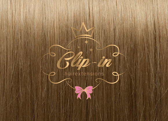 Dirty Blond clip-in extensions #18 - 270 gram - 60cm