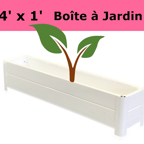 Boite à Jardins 4'x1'