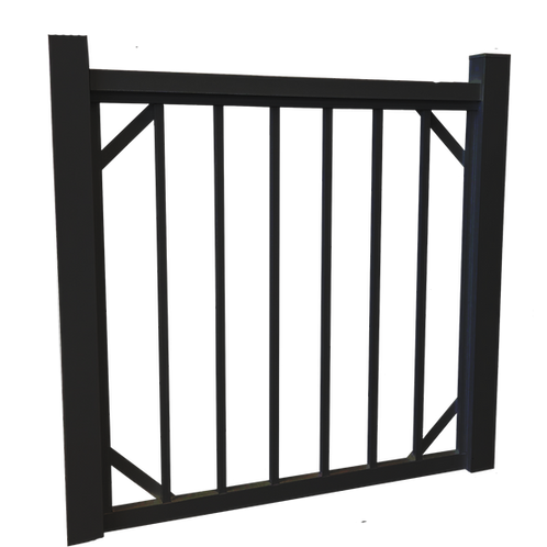 Fence gate for swimming pool 40 'wide x 48' 'high
