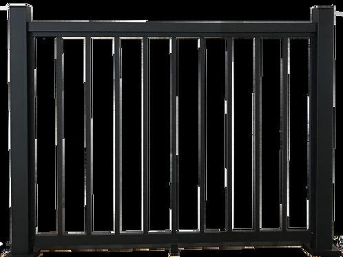 Rampe 46''x42'' Noir