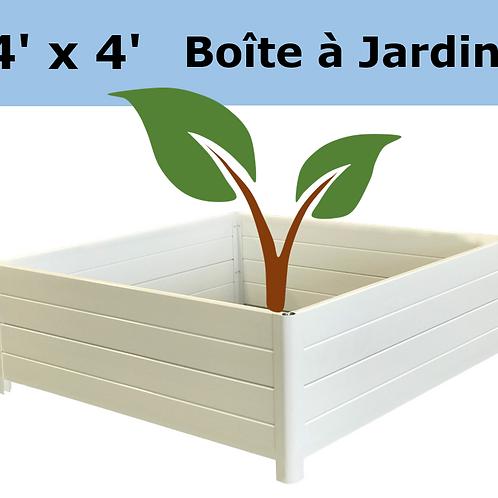 Boite à Jardins 4'x4'