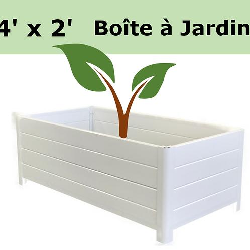 Boite à Jardins 4'x2'