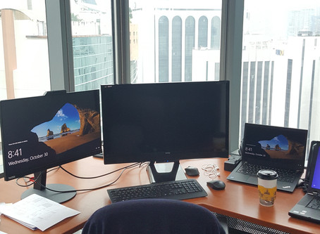My Office and Desk