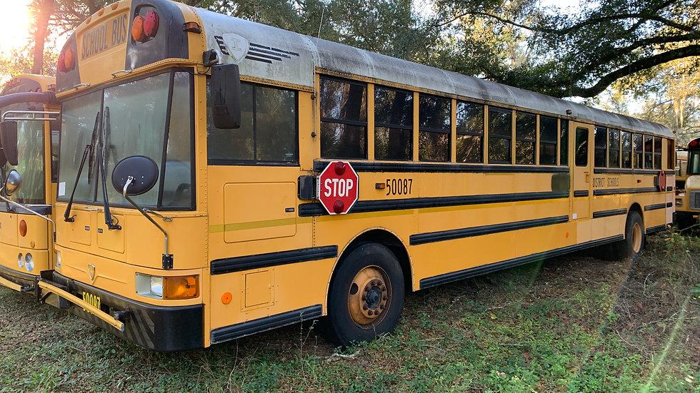 2005 inter 13 rows  runs good clean south bus
