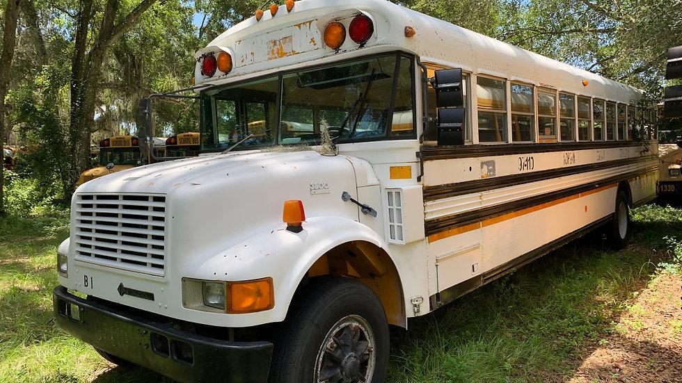 1997 inter dt466 65 pass clean south bus 65 passengers