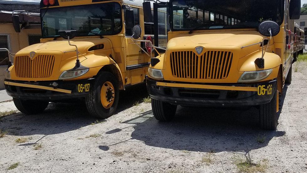 2005 inter dt466 auto air brakes florida clean bus runs good