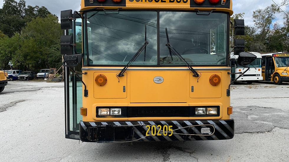 2002 blue bird all american 8.3 cummins 84 passengers clean