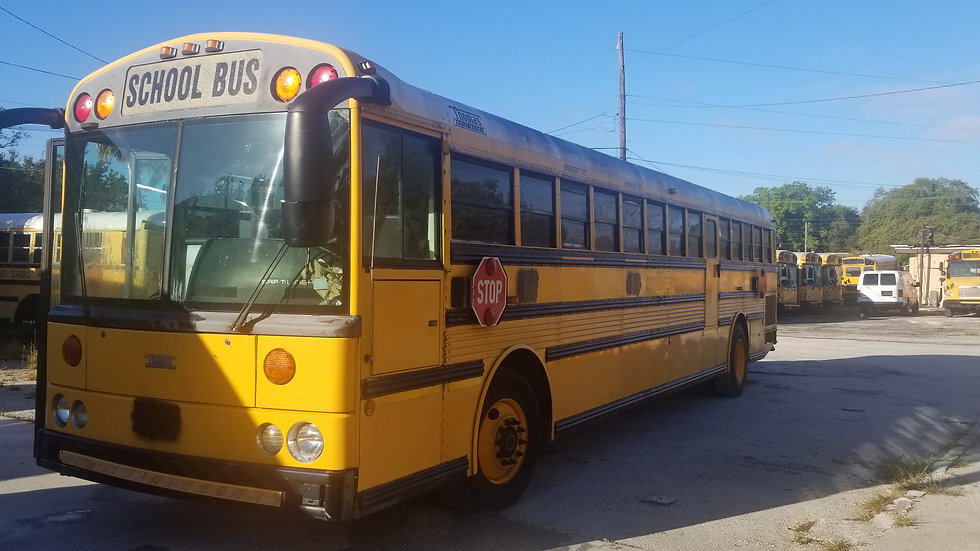 2002 thomas 14 rows florida clean never rust cat turbo