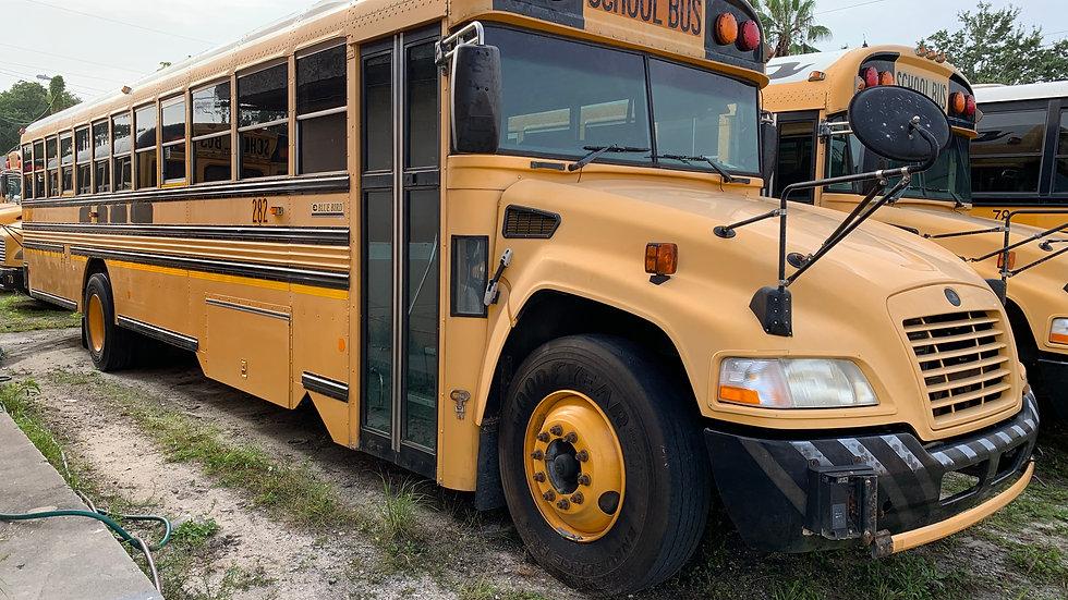 2011 blue bird vision cummins 6.7 ac 72 pass florida bus