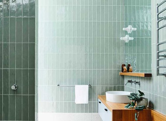 浴室不再等於陰暗、潮濕!光線打對再挑對瓷磚!